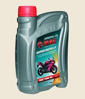 Олива моторна NAC MOTO 4T півсинтетична 1л