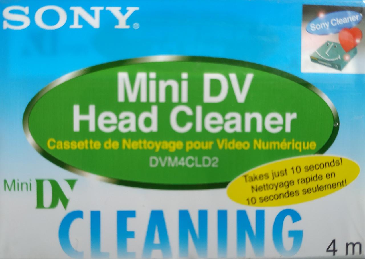 Видеокассета  Sony mdv чистящая