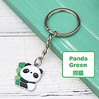 Милый брелок для ключей в форме панды «Panda Green»