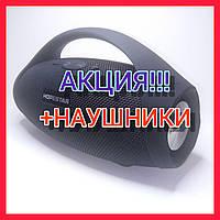 Хорошая беспроводная колонка с радио флешкой Hopestar H32 Оригинал Bluetooth  Отличный звук черная