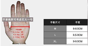 Защитные мото перчатки с костяшками sky bike мотоперчатки, фото 2