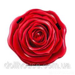 """Матрац Intex 58783 EU """"Троянда"""" (6) розмір 137х132см, від 6-ти років"""