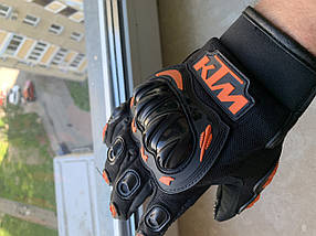 Защитные мото перчатки с костяшками Ktm для мотокросса эндуро  мотоперчатки