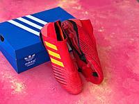 Бутсы Adidas Predator 18+FG/адидас предатор/копы/футбольная обувь