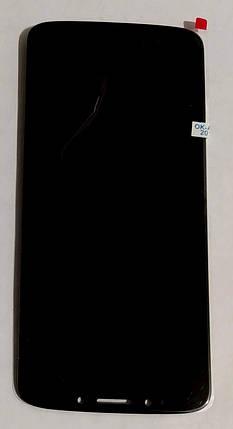 Модуль (сенсор+дисплей) для Motorola XT1944 Moto E5 Black, фото 2