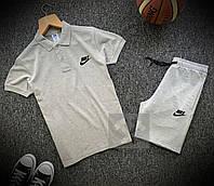 Мужской комплект футболка - поло с шортами, фото 1