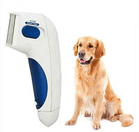 Электрическая расческа для собак и котов Flea Doctor
