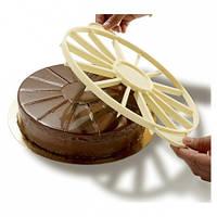 Делитель для торта 10 частей d=27см h=2.5 см Matfer 154050