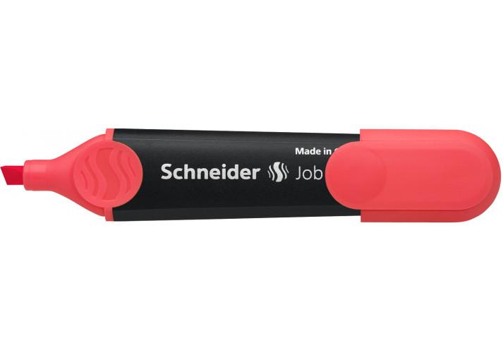 Маркер текстовыделитель SCHNEIDER JOB 1-4,5 мм, красный  S1502 SCHNEIDER  (199780891)