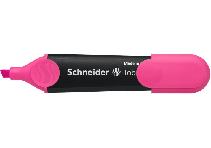 Маркер текстовыделитель SCHNEIDER JOB 1-4,5 мм рожевий S1509 SCHNEIDER (199780441)