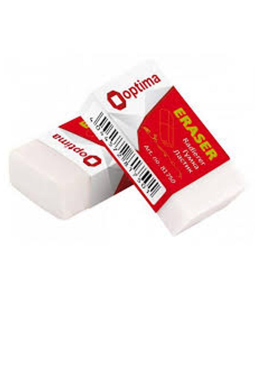 Ластик для карандаша в индивидуальной упаковке Optima  (O81750)