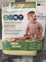 Непромокаемая детская пеленка ЭкоПупс Classic 50х70 см, трикотаж