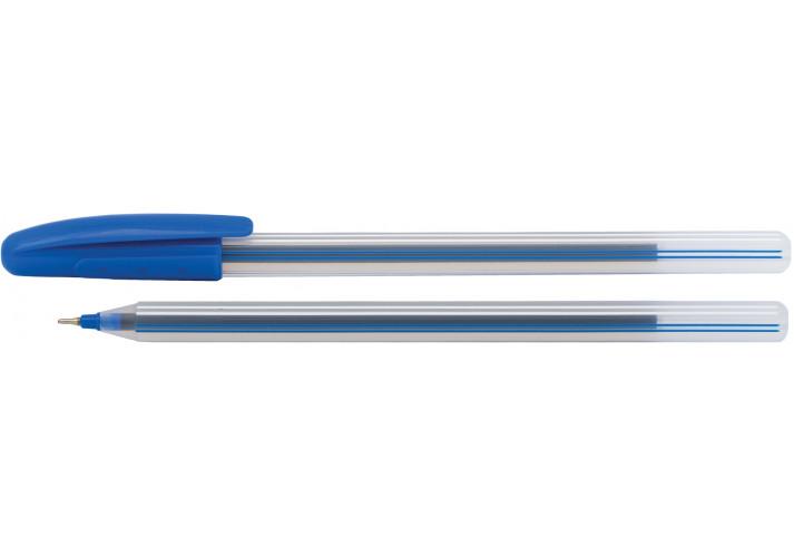 Ручка масляная ECONOMIX LINE 0,7 мм, (Е10196-02) economix  (45940312)