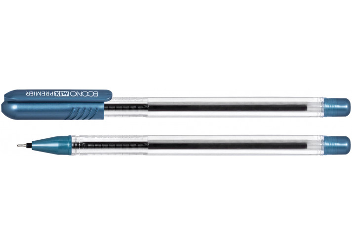 Ручка масляна Economix PREMIER синя economix ( E10199-02)