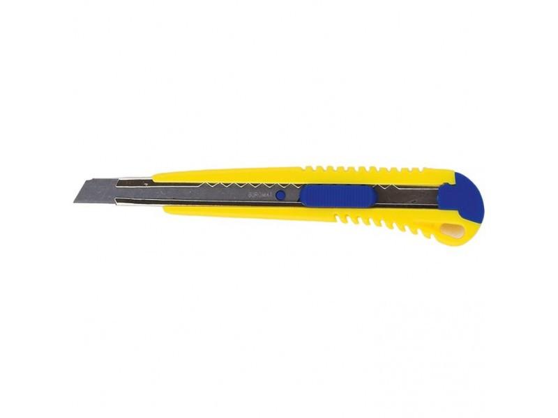 Нож канцелярский BUROMAX 9 мм, metal runners (BM.4602) buromax