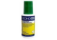 Корректирующая жидкость Economix с кисточкой водная основа 20мл economix  (203426743)