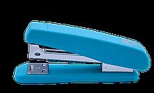 Степлер пластиковый, RUBBER TOUCH, 20 л., (скобы №24; 26), голубой,BM.4205-14 buromax  (BM.4205-14)