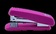 Степлер пластиковый, RUBBER TOUCH, 20 л., (скобы №24; 26), розовый ,BM.4205-10 buromax  (BM.4205-10)