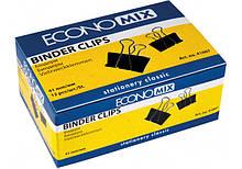 Биндеры для бумаги 41 мм Economix, 12 шт. (E41007) economix  (E41007)