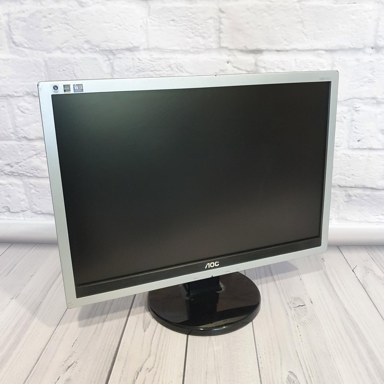 Монитор AOS 19  (Матрица TN / DVI, VGA,DisplayPort / Разрешение 1680x1050)