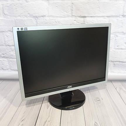 Монитор AOS 19  (Матрица TN / DVI, VGA,DisplayPort / Разрешение 1680x1050), фото 2