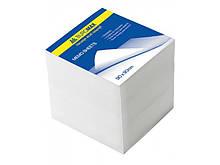 Блок білого паперу для записів, 90х90х90 мм, не склеєний BM.2219 buromax (78475070)