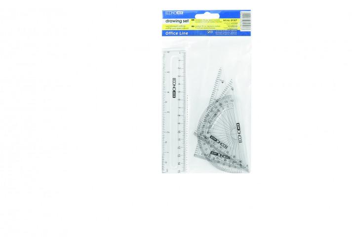 Набір лінійок (E81307) economix (E81307)