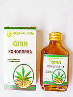 Олія конопляна Organic Oils, 100 мл, фото 1