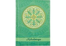 """Блокнот """"Калейдоскоп"""", А5, клітинка ,80л., клітка зелений (20366-04) Optima (20366-04)"""