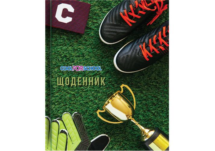 Школьный дневник, 165х210 мм, ″Футбол2″ 48 стр. (CF29932-27) cool for school  (CF29932-27)