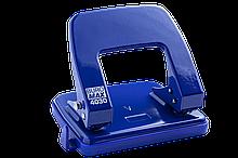 Дырокол металлический, до 25 л., 22х108х54 мм, синий (BM.4030-02) buromax  (BM.4030-02)