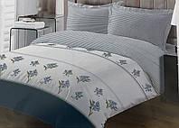 Комплект постільної білизни ТЕП Elena бязь 215-150 см синій