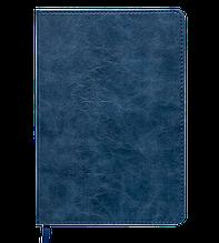 Блокнот ділової BELLAGIO, L2U, А5, 96 л., клітина, синій, позов.шкіра (BM.29521101-02) buromax (BM.29521101-02)