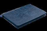 Блокнот деловой BELLAGIO, L2U, А5, 96 л., клетка, синий, иск.кожа (BM.29521101-02) buromax  (BM.29521101-02), фото 2