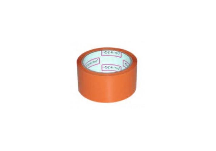 Лента клейкая упаковочная (скотч) Optima, оранжевая, 48мм*30м (O45304-06) Optima  (O45304-06)