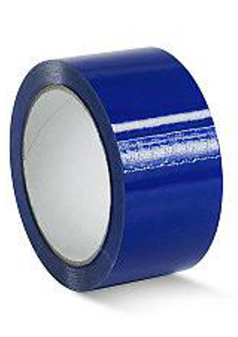 Лента клейкая упаковочная (скотч) Виса, синяя, 48мм*50м  Украина  (80124)