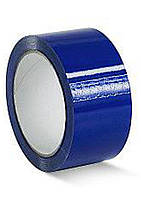 Лента клейкая упаковочная (скотч) Виса, синяя, 45мм*50ярд Украина (80124)