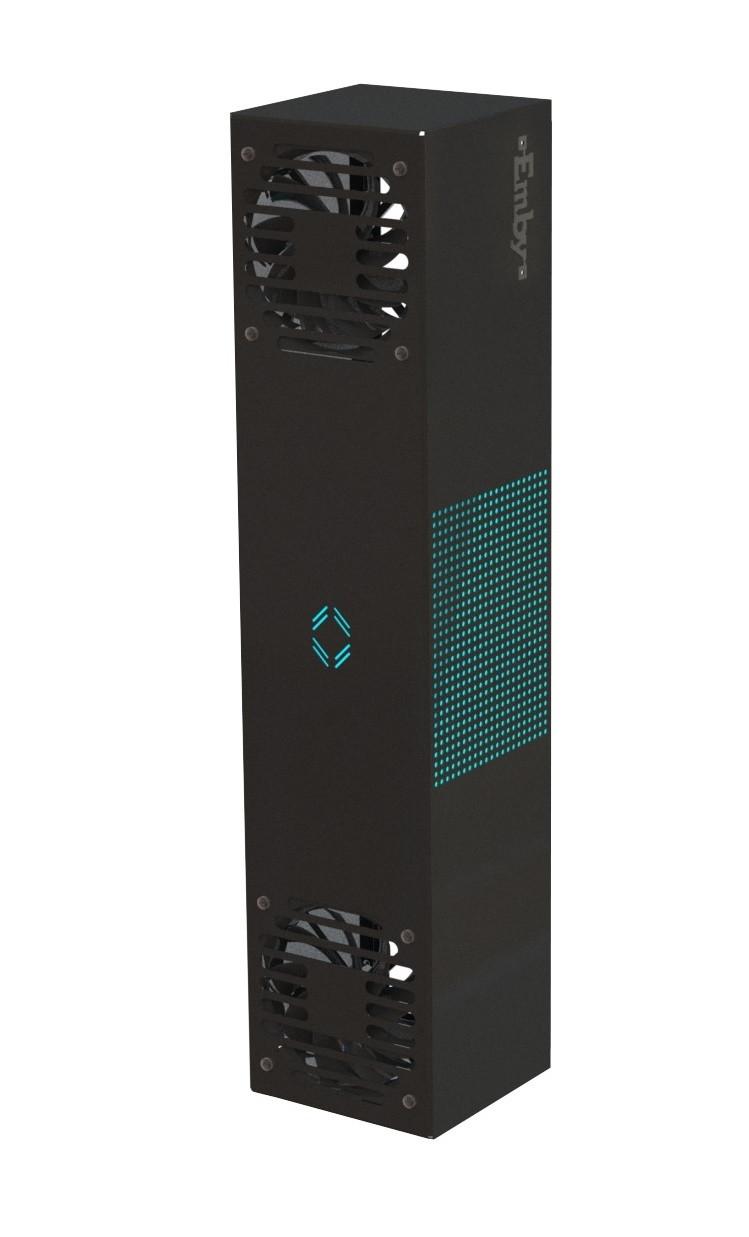 Бактерицидный Рециркулятор UVAC - 60 чёрный