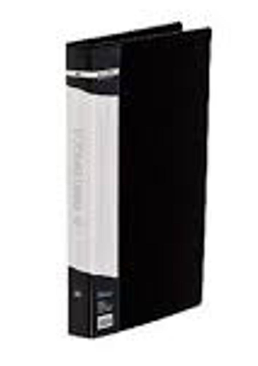 Папка пластикова, 2 R-подібних кільця, А5, ширина торця 25 мм, чорна ( BM.3168-01) buromax ( BM.3168-01)