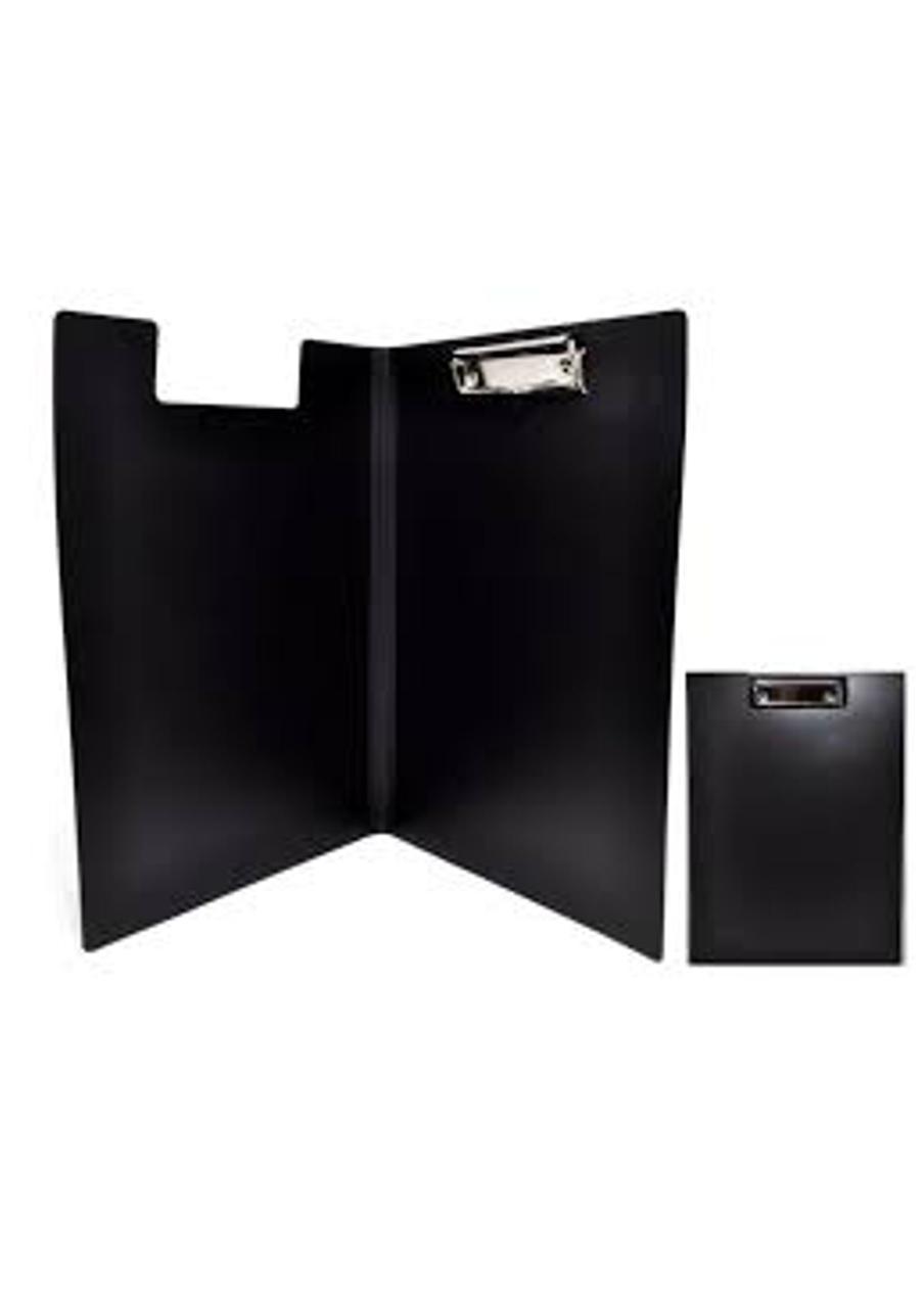 Папка-планшет А4 Economix с прижимом, пластик, черная (E30153-01) economix  (E30153-01)