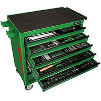 Набор инструментов в тележке TOPTUL 8 секций 360 ед. JUMBO GT-36001