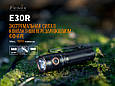 Ліхтар ручний Fenix E30R Cree XP-L HI LED, фото 4