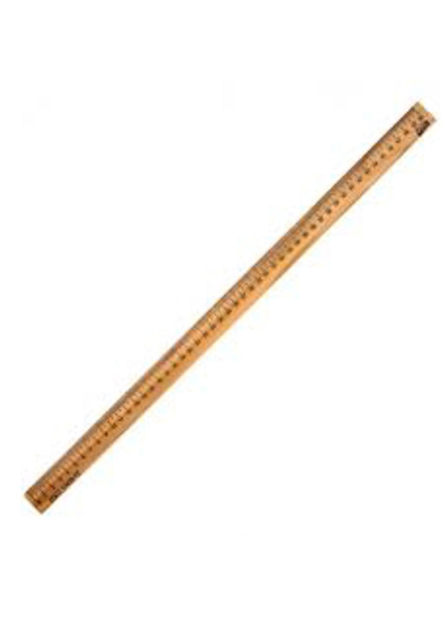 Лінійка 50 см, дерев'яна Україна (7829)