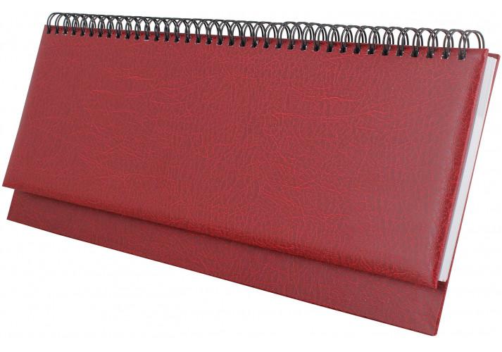 Планинг недатированный, SAHARA, темно-красный(E21742-03) economix  (E21742-03)