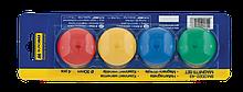 Комплект магнитов, 30 мм, по 4 шт. в упаковке ( BM.0022-43) buromax  ( BM.0022-43)