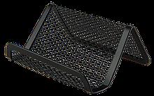 Підставка для візиток, металева, чорна ( BM.6225-01) buromax ( BM.6225-01)