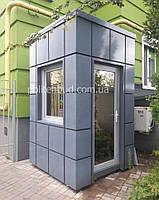 Построить киоск, ларек ,торговый павильон,пост охраны с вентилируемым фасадом