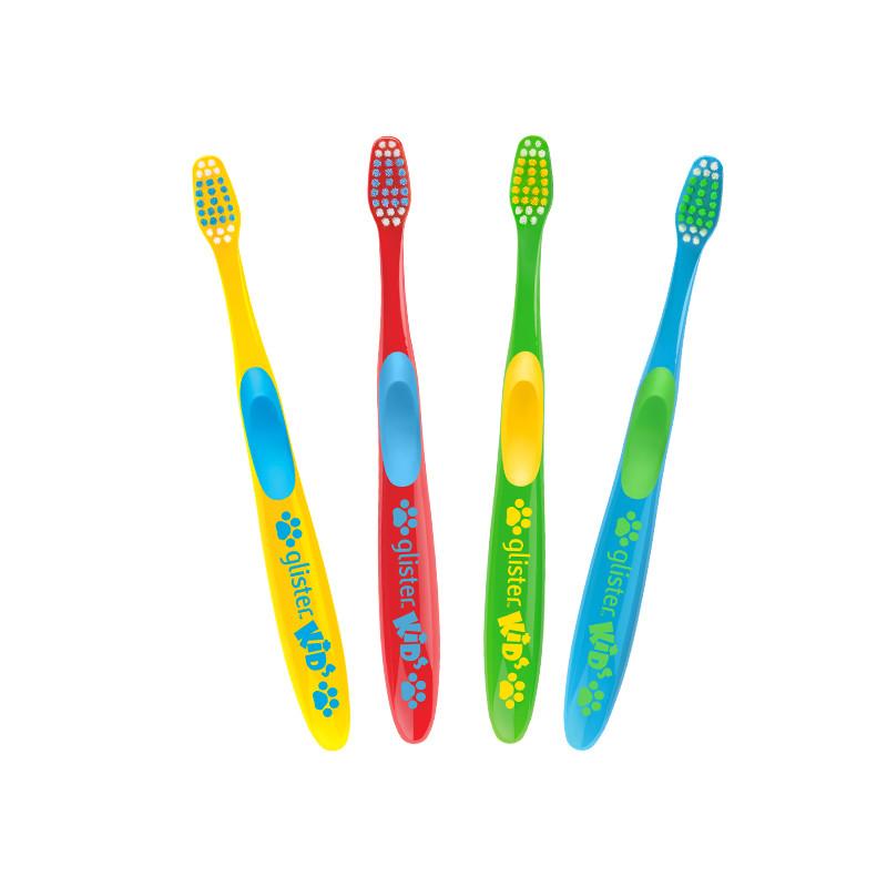 Зубные щетки для детей Glister™ kids (4шт.) Amway  (120522)