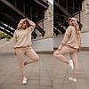Модный женский спорт костюм, фото 5