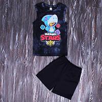 Детский летний костюм Бравл Старс 134- 140 см